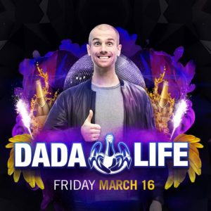 Dada Life Pillow Fight Night Party on March 16